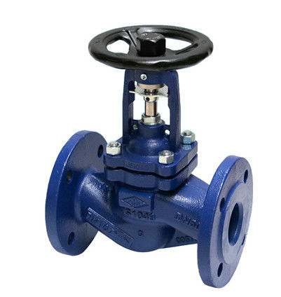 High Tightness ANSI Bellow Globe Valve 10 Inch Hastelloy WCB BODY 300LB