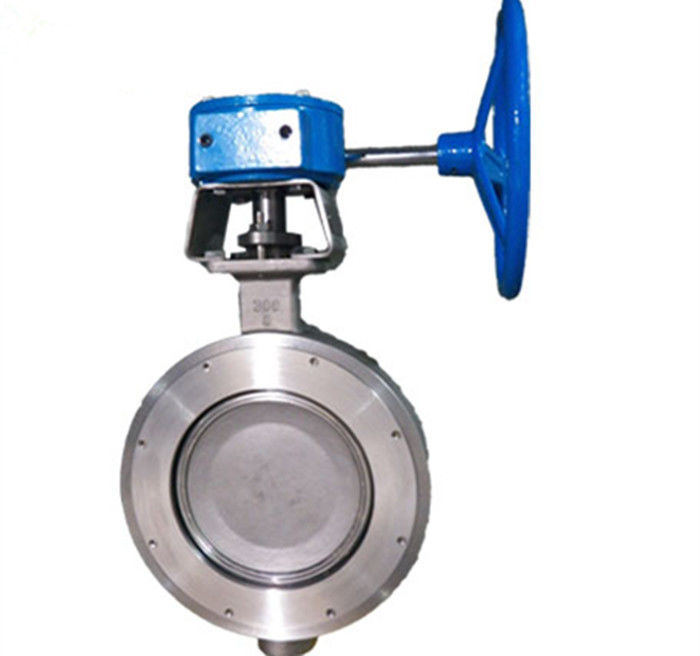 High Performance Wafer Double Flanged Butterfly Valve