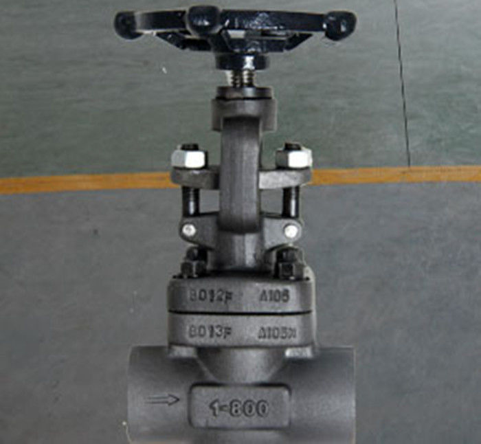 Globe Bolted Bonnet Forged Steel Valve , Rising Stem Reduced Bore Valve F304 F316 A105